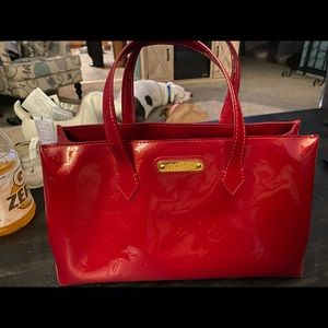 LOuis Vuitton Vernis Patent Leather Red Tote